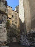 Il palazzo papale è un palazzo storico situato a Avignone, Francia del sud È uno di più grande e Goth medievale più importante Fotografia Stock