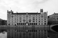 Il palazzo Rosenbad Fotografia Stock Libera da Diritti