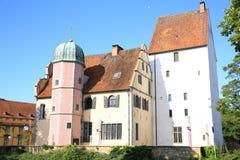 Il palazzo storico Ledenhof in Osnabrueck, Bassa Sassonia, Germania Fotografie Stock