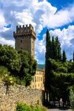 Il Palazzone, villa elegante di rinascita in Cortona, Italia Fotografie Stock Libere da Diritti