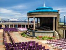 Il palco dell'orchestra di Eastbourne Immagini Stock