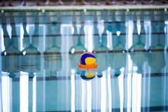 Il pallanuoto è uno sport acquatico del gruppo immagini stock