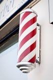 Il palo del barbiere Immagini Stock