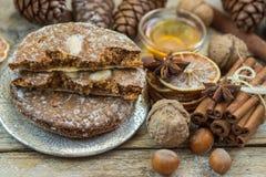 Il pan di zenzero di Norimberga è un ossequio tradizionale di Natale Immagini Stock