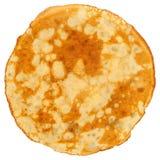 Il pancake ha isolato Fotografia Stock