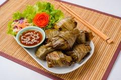 Il Pandanus fritto pollo è delizioso Immagini Stock Libere da Diritti