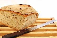 Il pane casalingo ha preparato in cucina Immagine Stock Libera da Diritti