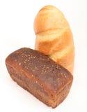 Il pane di segale e wheaten Fotografie Stock Libere da Diritti