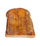 Il pane tostato con burro e sparge con lo zucchero Fotografie Stock