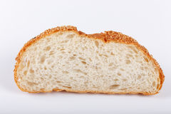 Il pane tostato di pallacanestro incide gli strati Fotografie Stock