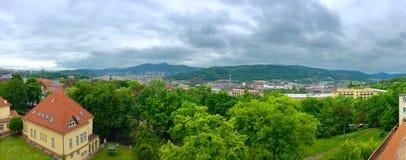 Il panorama del parco Fotografia Stock