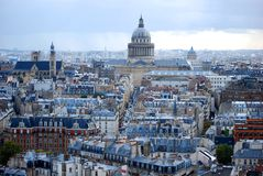 Il panteon, Parigi Immagini Stock Libere da Diritti
