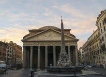 Il panteon a Roma Fotografia Stock Libera da Diritti