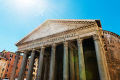 Il panteon, Roma, Italia Fotografia Stock Libera da Diritti