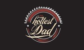 Il papà più caldo royalty illustrazione gratis
