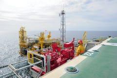 Il parafuoco offshore Fotografia Stock