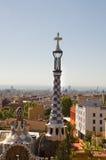 Il Parc Guell di Gaudi a Barcellona Immagini Stock Libere da Diritti