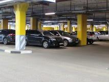 Il parcheggio dell'automobile immagine stock