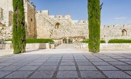 Il parco archeologico Davidson Center a Gerusalemme, Israele Immagine Stock
