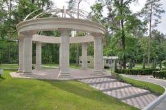 Il parco in Bucha-città Fotografie Stock