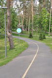 Il parco in Bucha-città Immagine Stock Libera da Diritti