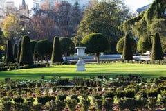 Il parco buen il retiro Madrid Fotografie Stock