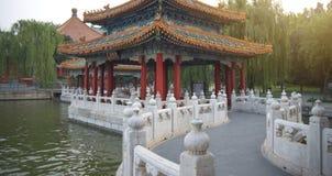 Il parco di Beihai è un giardino imperiale fotografia stock libera da diritti