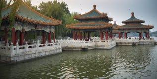 Il parco di Beihai è un giardino imperiale immagini stock libere da diritti