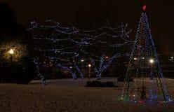 Il parco di cadute è un'attrazione turistica importante in Sioux Falls, D del sud immagini stock
