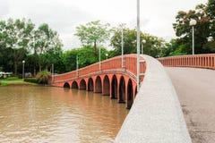 Il parco di Chatuchak è un parco nel cuore della capitale tailandese, situato a Bangkok Fotografie Stock