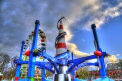 il parco di divertimenti Fotografia Stock Libera da Diritti