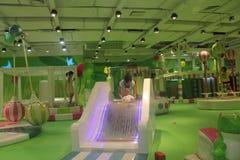 Il parco di divertimenti dei bambini verdi nel ¼ ŒAsia di Œchinaï del ¼ dello shenzhenï Immagini Stock Libere da Diritti