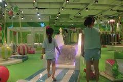 Il parco di divertimenti dei bambini verdi nel ¼ ŒAsia di Œchinaï del ¼ dello shenzhenï Fotografia Stock