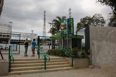 Il parco di Madureira è espanto in Rio de Janeiro Fotografia Stock Libera da Diritti