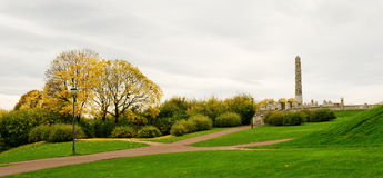 Il parco di Vigeland Immagine Stock