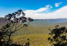 Il parco nazionale blu delle montagne da Katoomba cade in Australia Immagine Stock Libera da Diritti