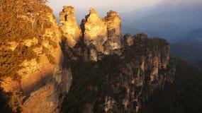 Il parco nazionale blu in Nuovo Galles del Sud, Australia delle montagne Immagine Stock