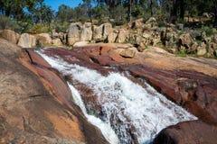 Il parco nazionale cade sito a John Forrest National Park Immagini Stock Libere da Diritti
