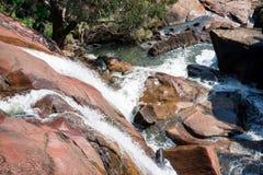 Il parco nazionale cade sito a John Forrest National Park Fotografie Stock
