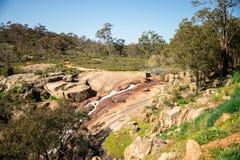 Il parco nazionale cade vista a John Forrest National Park Fotografie Stock