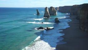 Il parco nazionale degli apostoli, grande strada dell'oceano video d archivio