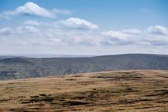Il parco nazionale di punta del distretto in Derbyshire, Regno Unito Immagini Stock Libere da Diritti