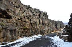 Il parco nazionale di Thingvellir Immagini Stock