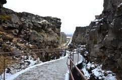 Il parco nazionale di Thingvellir Immagine Stock
