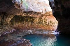 Il parco nazionale di Zion del â del sottopassaggio Fotografie Stock Libere da Diritti
