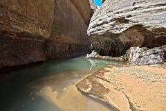 Il parco nazionale di Zion del â del sottopassaggio Immagine Stock