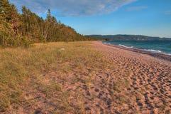 Il parco provinciale del lago Superiore è sulla riva del lago in Ontario nordico, Canada fotografia stock libera da diritti
