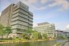 il parco tecnologico è situato in Pak Shek Kok, nuovi territori, Immagine Stock Libera da Diritti