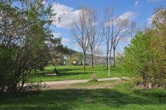 Il parco Toronto del bluffatore SOPRA fotografia stock libera da diritti