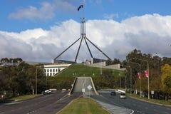 Il Parlamento alloggia, Canberra Immagini Stock